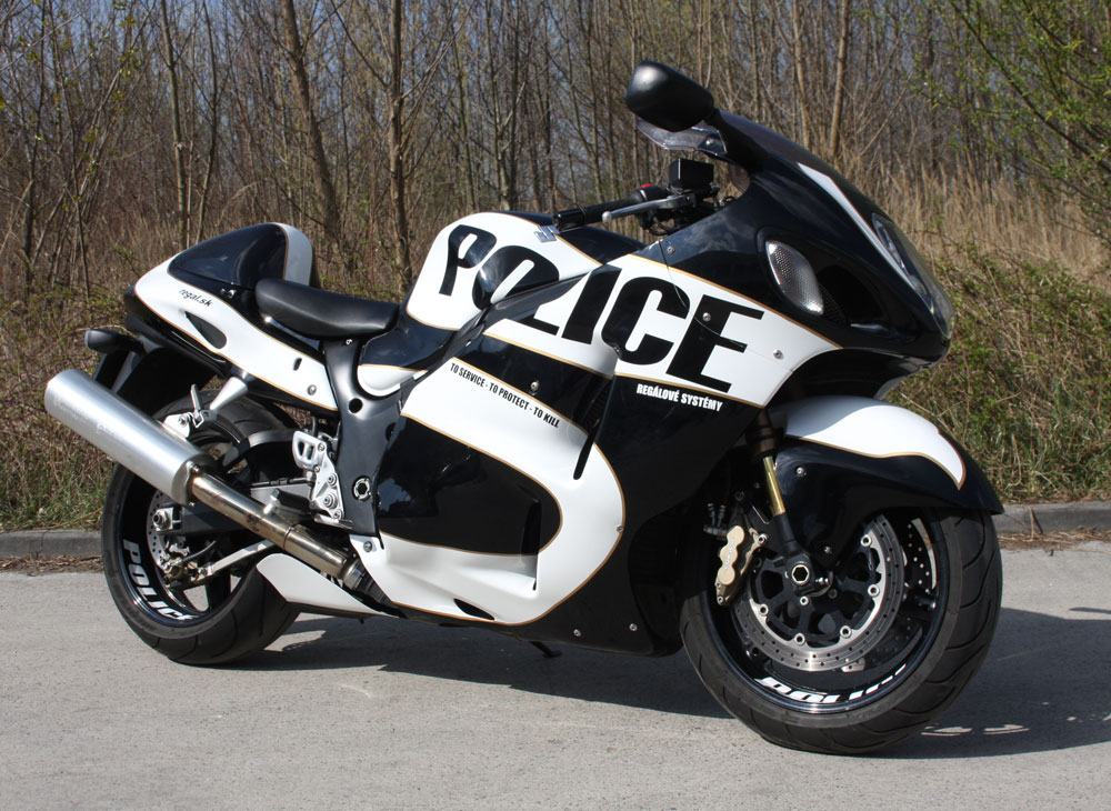 regaly police hayabusa
